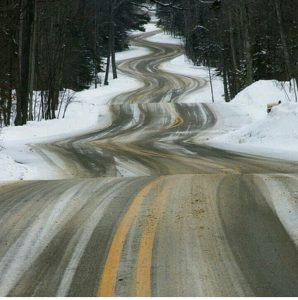 road curve travel